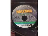 X 4 maxima 15lb line