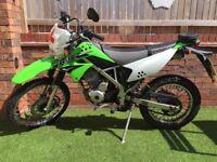 Kawasaki klx 125cc (66 plate)