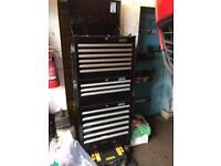 Halfords industrial tool box