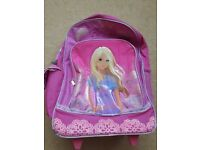 Barbie suitcase/wheeled trolley/holiday bag