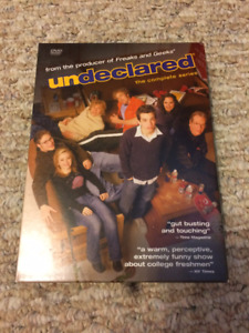 Undeclared Complete Series on DVD