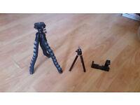 Camera/GoPro/MobilePhone Tripod set