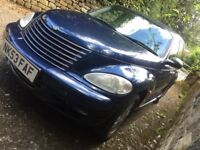 Chrysler PT Cruiser 2.2 CRD Turbo Diesel ONLY 57k Miles full MOT 5 door 2003 53 plate