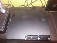 Ps3 slim console + 7 games