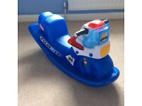 little tikes police cycle rocker