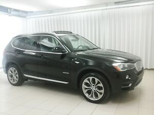 2017 BMW X3 BEAUTIFUL!!!! 28i x-DRIVE SUV w/ HEATED SEATS, NAV