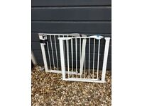 Two stair gates available. In good condition.