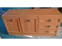 TV Unit / Sideboard - 4ft. Long X 2ft. High X 16 inch Wide.
