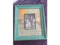 Vintage style photo frame - from Oliver bonas, never used