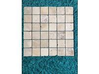 Travertine floor/wall tiles and mosaic floor/wall tiles