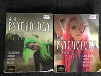Psychology A level AQA revision guide