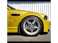 18'' WORK EQUIP 05 Alloy Wheels - BMW Fitment - Super Rare !!