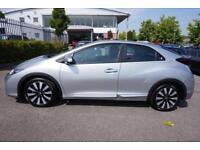 2016 Honda Civic 1.4 i-VTEC SE Plus (Nav) Manual Petrol Hatchback