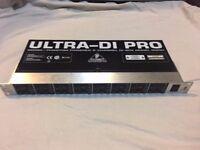Behringer Ultra-DI Pro, DI800, 8 channel DI box, inc. original box