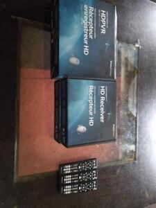 Shaw HDPVR 630 + 2 HDDSR600 receivers