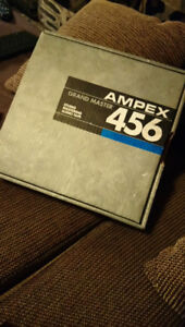 Ampex 456, 2 inch tape ,New sealed (sticky?)