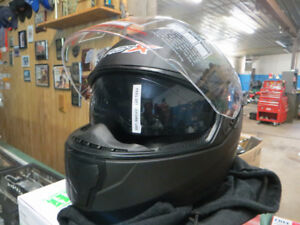 New RiotX Full Face Helmet, Size Medium