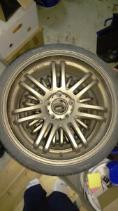 XXIO TYPE-SF rims 18x8