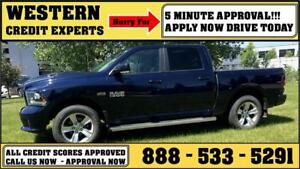 2014 Ram 1500 Sport 4x4 LOADED ~ Heated/Cooled Leather $291 B/W