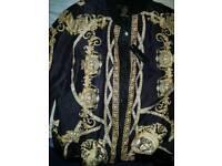 Versace jacket barocco print