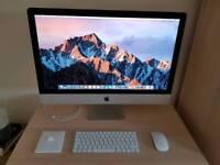 Apple iMac 27 inch with Retina 5K display 1Tb Fusion Drive