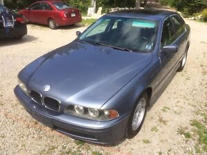 2001 BMW 530i. 5 speed