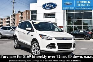 2014 Ford Escape TITANIUM 4WD - LEATHER - BLUETOOTH - POWER PANO
