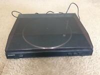 Sony turntable system