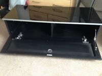 Black gloss tv cabinet for sale.