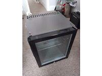 TEFCOLD TM30G BLACK/BLACK Silent Minibar Cooler