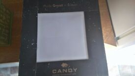 28 CANDY WHITE 20CM BUMPY WALL TILES. JUST OVER A SQUARE METER.