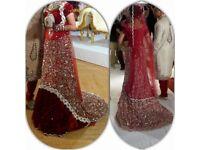 Asian bridal dress/ lengha