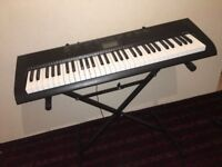 CASIO ELECTRONIC KEYBOARD + STAND PERFECT MINT CONDITION URGENT SALE