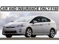 TOYOTA PRIUS UBER READY PCO RENT ONLY £160 P/W WITH INSURANCE * LOW DEPSOIT