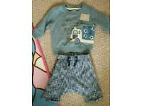 Baby boy outfit 3-6