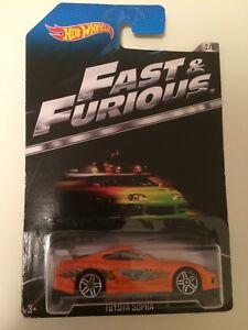 Hot Wheels Fast & Furious Toyota Supra