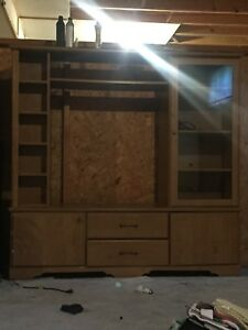 Wall Unit / Entertainment Stand