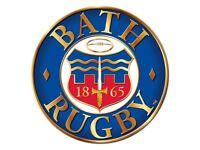 Bath Rugby Matchday Bar & Hospitality staff