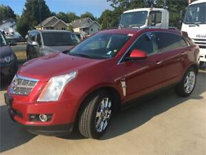 2010 Cadillac SRX V6 Premium V6 RED NAVIGATION Sunroof DVD rear