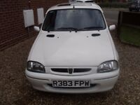 ROVER METRO 114 GSI RARE AND VERY LOW MILEAGE