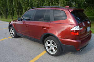 2009 BMW X3, excellent condition