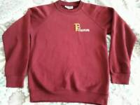 Tickford Park burgundy jumper 11/12