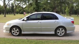 2005 Toyota Corolla XRS New Safety