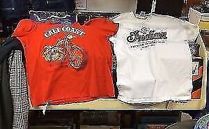 Vintage Motorcycle T Shirts Harley Indian Sturgis Choppers
