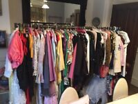 Genuine personal sale. Vintage job lot of clothing. 1940s-1980s