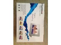 Luminex photo frame