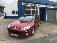 2005 Peugeot 407 SW 2.0HDi ESTATE 74,000 MILES FULL HISTORY, PAN ROOF HPI CLEAR