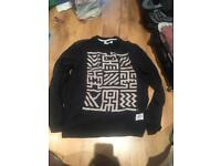 Black 'Supremebeing' sweater size XL