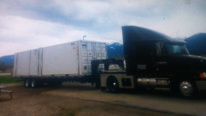Container hauling and transportation