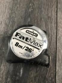 Stanley Fat max 8m/26' tape